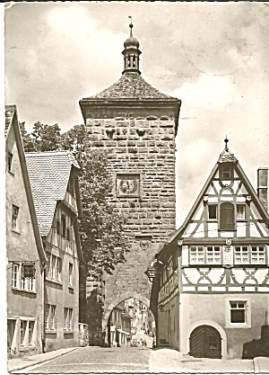 Rothenburg Ob Der Tauber, Germany Tower (Image1)