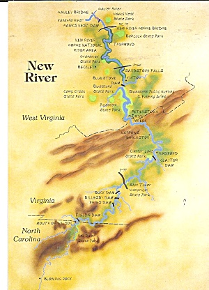 New River Gorge National River Map cs8537 (Image1)