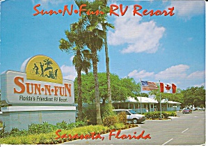 Sarasota Florida Sun N Fun Rv Resort Cs8546