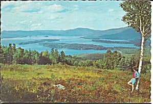 Lake George New York From Top O The World Cs8552