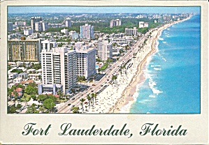 Ft Lauderdale Florida Hotels And Beach Scene Cs8555