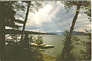 Adirondack Mountains New York Lake Scene (Image1)