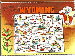 Wyoming State Map (Image1)