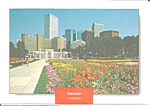 Denver Colorado Skyline From Civic Center Park Cs8567