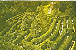Williamsburg Virginia Governor S Palace Maze Cs8570