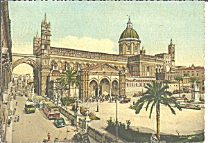 Palermo Italy The Cathedral Cs8573