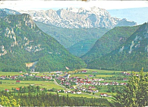 Inzell Bavaria Germany Aerial View Cs8575