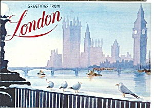London From A Watercolor By James Pearl