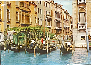 Venice Italy Canal and Gondolas cs8599 (Image1)