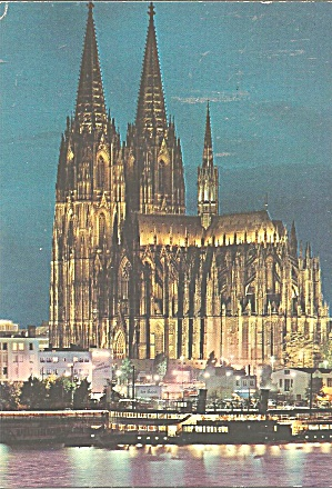 Cologne,Germany Cathedral at Night (Image1)
