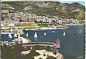 Monte Carlo, Monaco Harbor With Sailboats