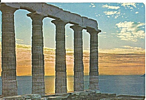 Sounio, Greece, Temple of Poseidon (Image1)