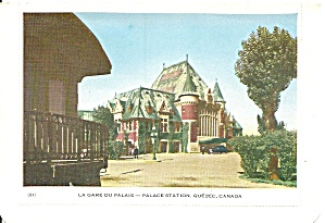 Quebec Canada, Palace Station Anadian Pacific Railways