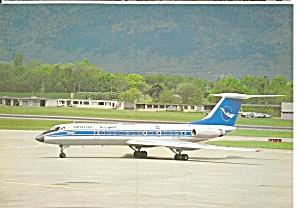 TU-154B-2 of Syrianair at Geneva cs8654 (Image1)
