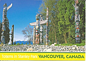 Vancouver,british Columbia,,stanley Park Totem