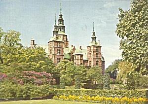 Copenhagen Denmark Rosenborg Castle Postcard cs8662 (Image1)