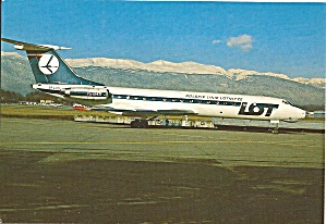 TU-134A of LOT Polish Airlines SP-LHD cs8669 (Image1)