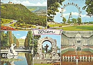 Vienna Austria Ferris Wheel White Stallions cs8695 (Image1)