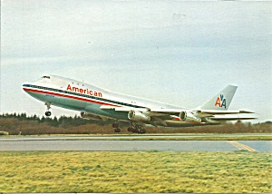 American Airlines 747-123  cs8711 (Image1)