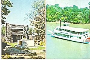 Fort Nashborough TN  Captain Ann Paddlewheeler cs8734 (Image1)