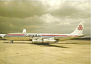 Cargolux Air Int l  707-331C LX-BJV Jetliner cs8761 (Image1)