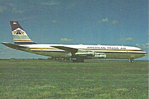 American Trans Air 707-323B cs8773 (Image1)