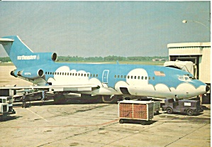 North Eastern International Airlines 727 Blue cs8838 (Image1)