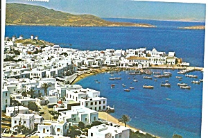 Mykonos Greece Picturesque View (Image1)