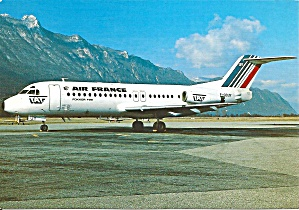Air France  Fokker F-28-4000 F-GDUY cs8858 (Image1)