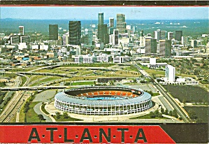 Atlanta Ga Fulton County Stadium Home Braves Falcons Cs8863