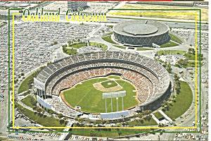 Oakland CA Oakland Coliseum Home of Oakland A s cs8864 (Image1)