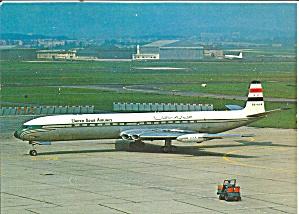 United Arab Airlines D H Comet 4  SU-ALM cs8868 (Image1)