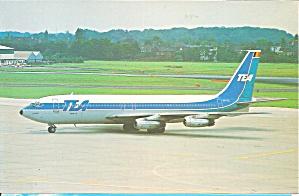 TEA 707-131 OO-TEC at Kloten Airport Zurich cs8870 (Image1)