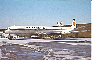 Mexicana D H Comet 4  XA-NAN  on Ramp cs8875 (Image1)