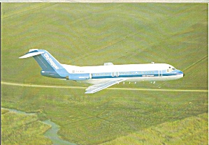 Nlm Cityhopper Fokker F-28-4000 Ph-bbv In Flight Cs8897