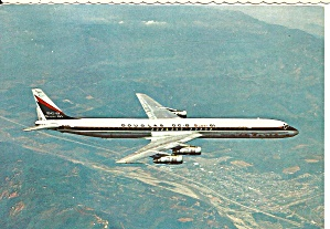 DC-8-Super 61 in Douglas Livery in Flight cs8908 (Image1)