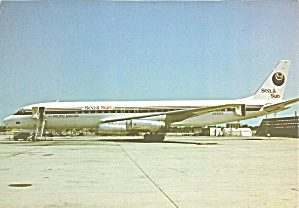Pacific East Air Dc-8-62 N3931g At Los Angeles Cs8915
