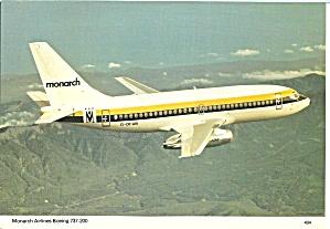 Monarch Airlines 737-200 in Flight cs8934 (Image1)