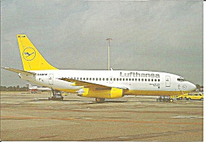 Lufthansa 737-23 D-ABFW in Yellow Livery cs8936 (Image1)