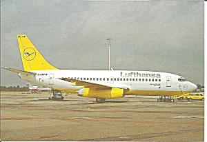 Lufthansa 737-23 D-ABFW in Yellow Livery cs8936 (Image1)