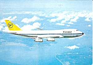 Condor 747 D-ABYF in Flight cs8945 (Image1)