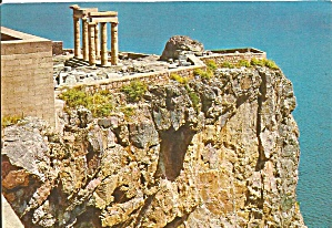 Rhodes Acropolis of Lindos, Greece (Image1)