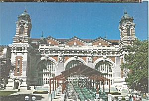 Ellis Island New York Harbor Main Building cs8980 (Image1)