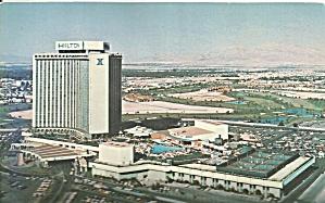 Las Vegas Nevada Las Vegas Hilton Postcard cs8989 (Image1)