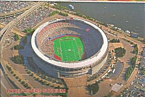 Pittsburgh PA Three Rivers Stadium cs8993 (Image1)