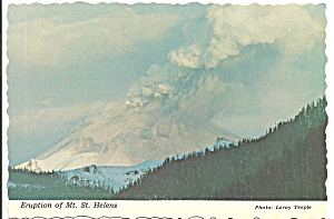 Mt Saint Helens, Washington Erupting (Image1)