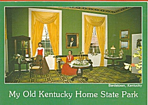 Bardstown Ky My Old Kentucky Home Library Cs9031
