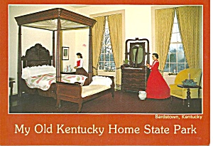 Bardstown Ky My Old Kentucky Home Rown S Bedroom Cs9032