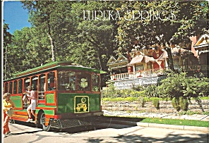 Eureka Springs Ar Eureka Trolley Car Bus Cs9033