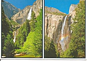 Yosemite National Park CA Yosemite Falls Bridalveil Falls cs9039 (Image1)